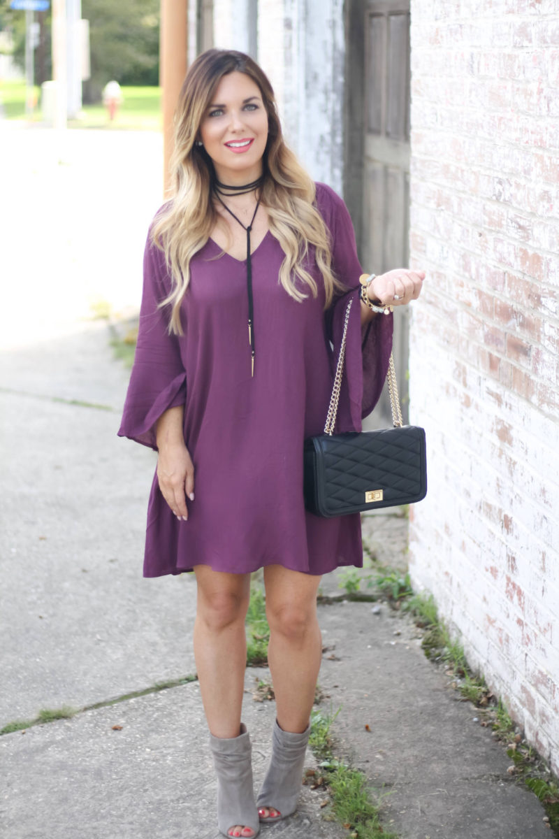 Fall trend bell sleeves