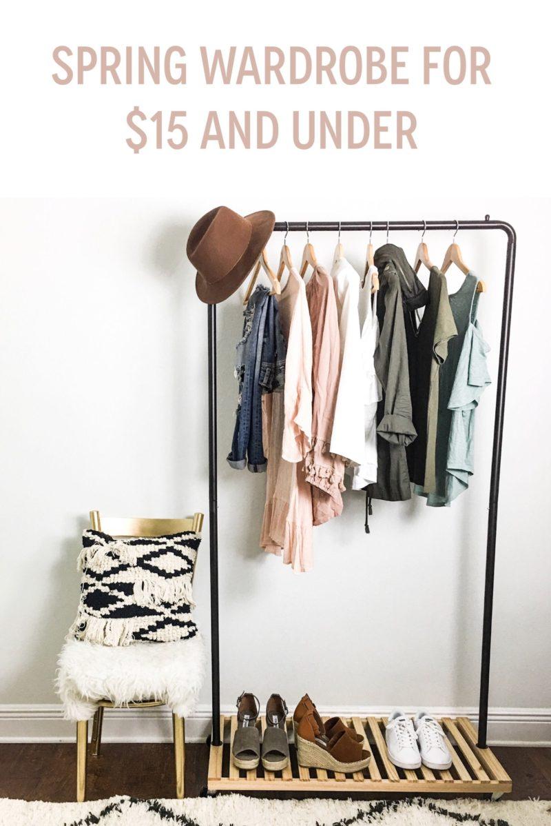 Spring wardrobe $15 and under