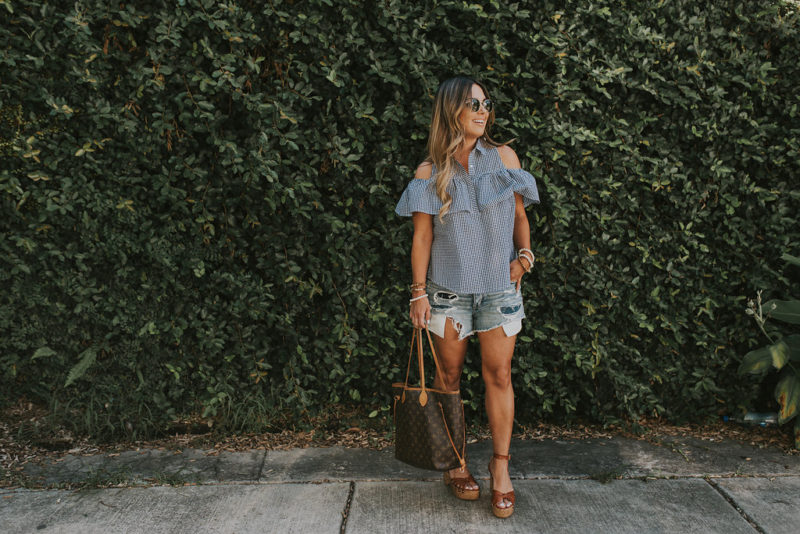 Rounded up my favorite gingham outfits that are perfect for summer. Read more to see all of the affordable options.