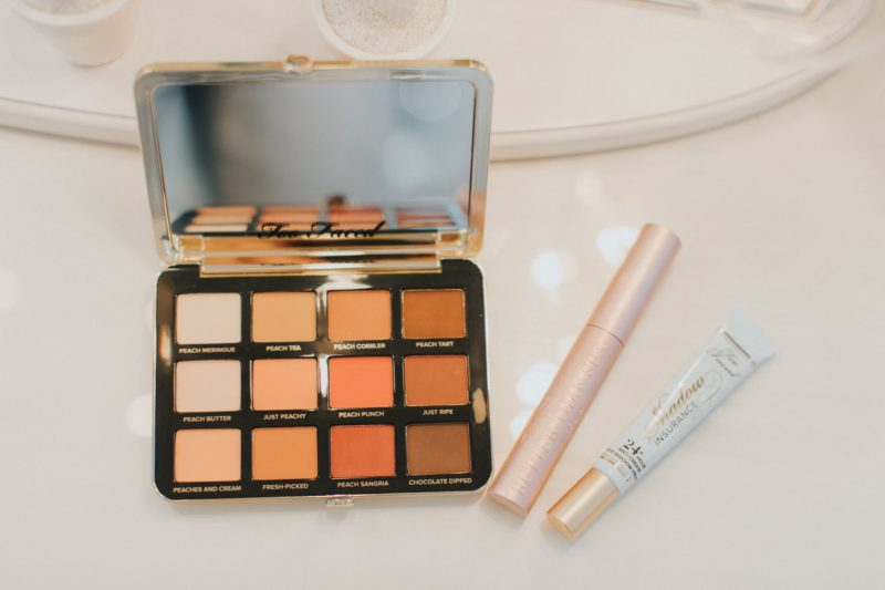5 Minute Peachy Eye with Sephora in JcPenney. Read more to see the eyeshadow makeover.