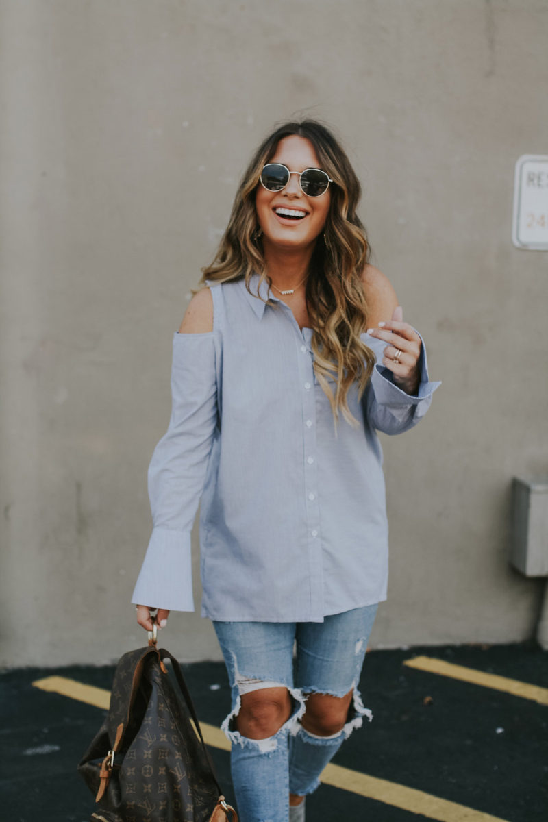 Easy outfit of the day ideas that can transition from day to night. Read more to see all of the outfit options.