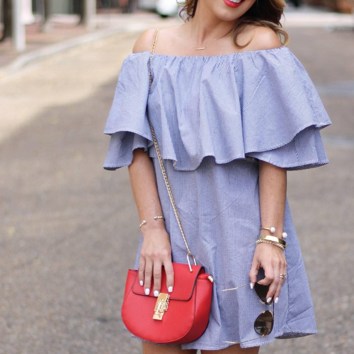 Ruffle Dress •