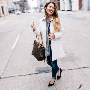 3 ways to style a basic button down