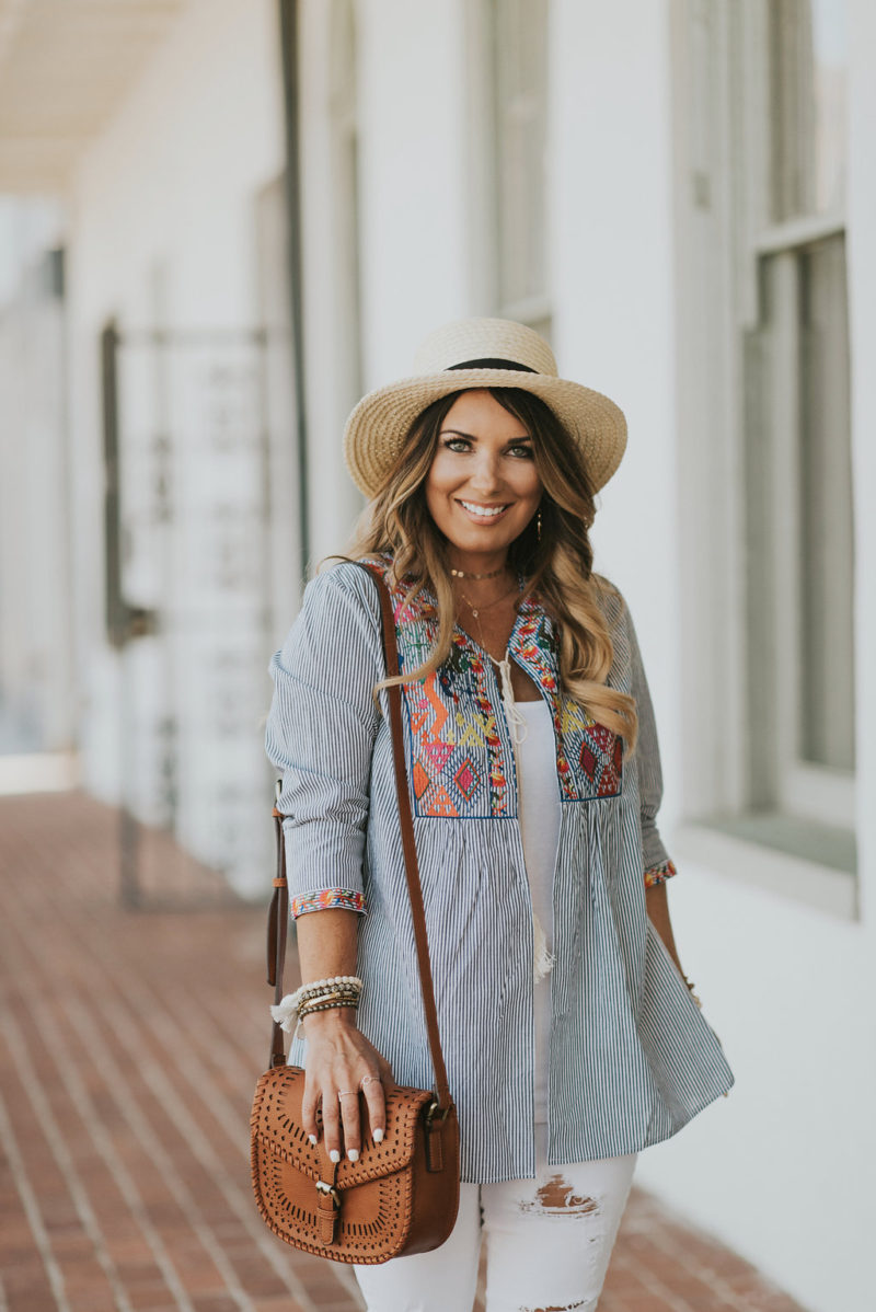 Must have embroidery tops to your summer wardrobe. Read more to take a peek at some of my favorites.