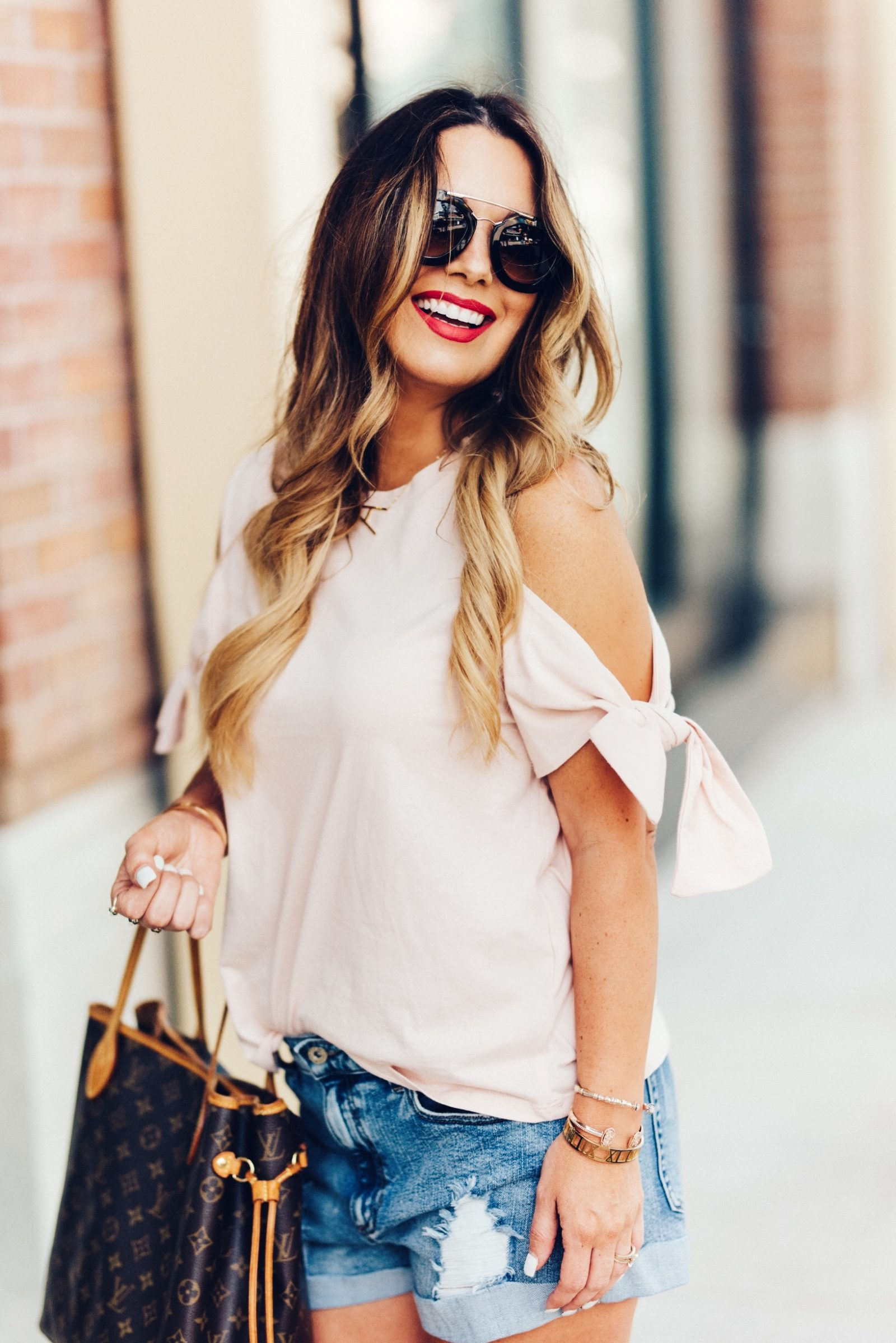 FUN facts and cold shoulder tops