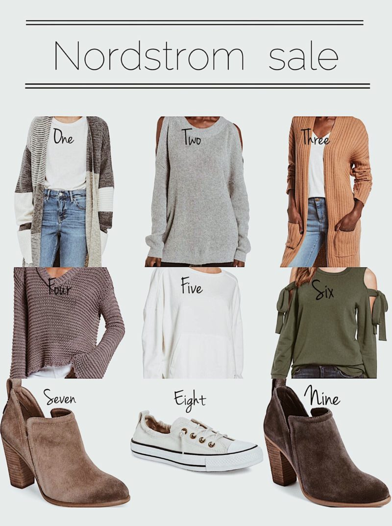 Stock up the hottest fall items. Sharing my wishlist from the Nordstrom sale. Check out my favorites that are under $50.