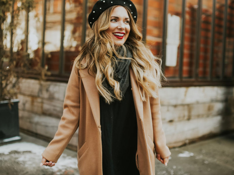 Adding layers to your ootd. The infinity scarf is easiest to layer with a tee and cardigan , with a sweater, a dress or with yoga pants and a sweatshirt.And, you don't have to figure out how to wrap it around your darn neck.