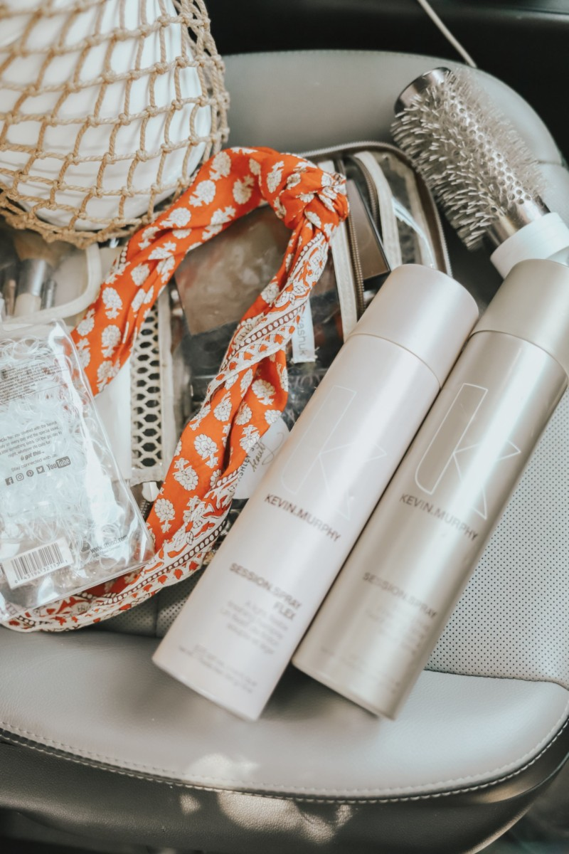 STYLING MY HAIR SCARF 3 WAYS WITH KEVIN MURPHY