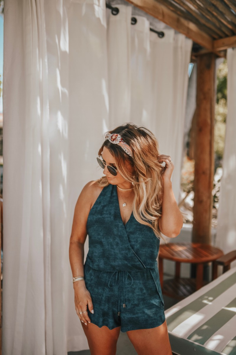 I found some modest swimsuits on Zappos by Magicsuit. They have so many options that it was hard to choose. Rompers are my thing so I was excited to find one that was also a swimsuit. Read more on the blog.