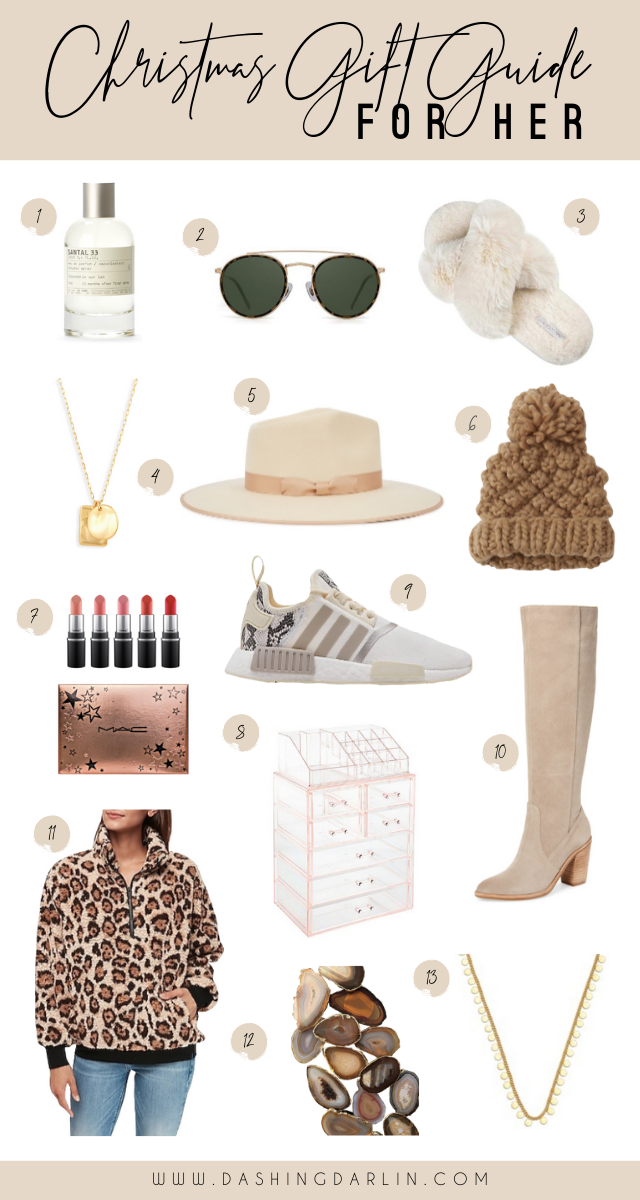 ROUNDED UP SOME OF MY FAVORITES THAT WOULD BE PERFECT FOR A WIFE, FRIEND OR MOM. STOCKING STUFFERS AND MORE ON THE BLOG-- CHRISTMAS GIFT GUIDE FOR HER