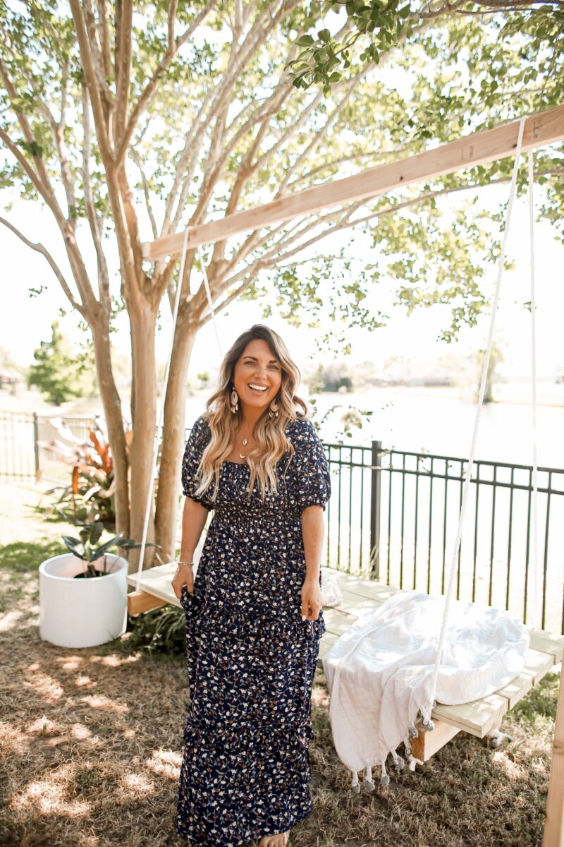 ROUNDED UP MY FAVORITE, AFFORDABLE FINDS FROM WALMART FROM BASIC WHITE TOPS, TIE DYE, AND FLORAL MAXI DRESS. SPRING OUTFITS FOR UNDER $25.