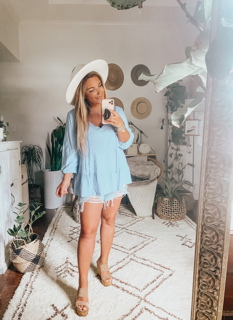 WALMART HAUL / SUMMER FAVORITES UNDER $40 ~ BASIC T-SHIRTS, DRESSES, BOHO TOPS, KIMONOS AND MORE ON THE BLOG