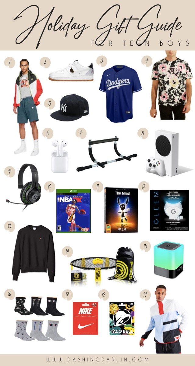 CHRISTMAS GIFT IDEAS FOR TEENAGERS- TEEN BOYS- NIKE TO XBOX TO SPORTSWEAR, SHOPPING FOR TEEN BOYS ALL ON THE BLOG