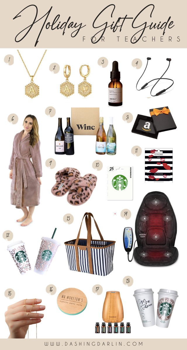 FROM GIFT CARDS TO ACCESSORIES TO A WINE SUBSCRIPTION, I ROUNDED UP SOME OF THE HOTTEST GIFT IDEAS FOR TEACHERS.