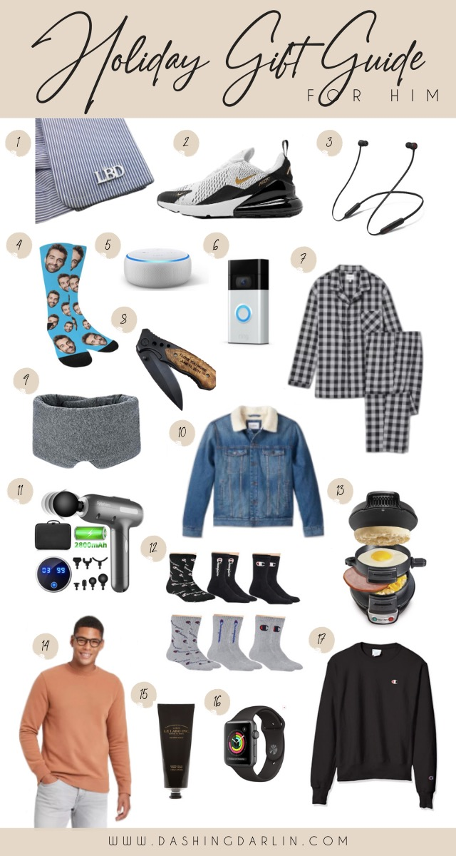ROUNDED UP MY TOP GIFT IDEAS FOR CHRISTMAS FOR HIM & ALL OF THE LADIES. FROM HOME DECOR TO COZY JACKETS TO GADGETS TO JEWELRY~ AFFORDABLE, PRACTICAL GIFTS ALL ON THE BLOG.