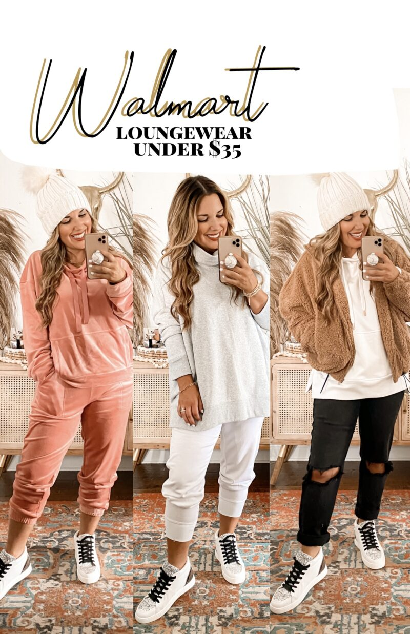 JOGGERS, SWEATSHIRTS, HOODIES, SNEAKERS AND MORE UNDER $35~ WALMART FASHION HAS ALL OF THE CUTE AND COMFORTABLE LOUNGEWEAR