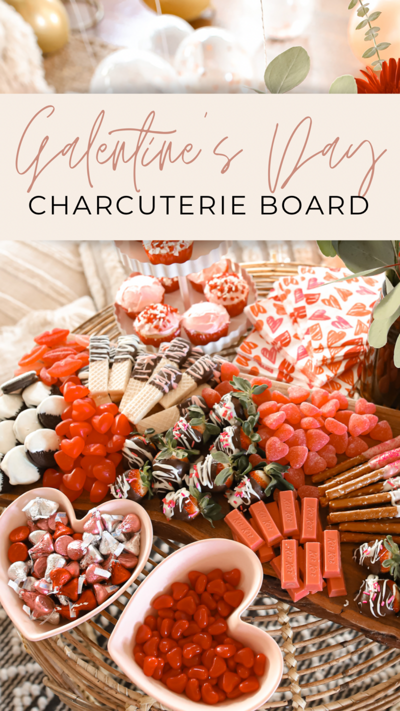 HOW TO THROW AN EASY AT HOME GALENTINE'S PARTY WITH YOUR FRIENDS~ CHARCUTERIE BOARD, BREAKFAST BOARD AND MORE