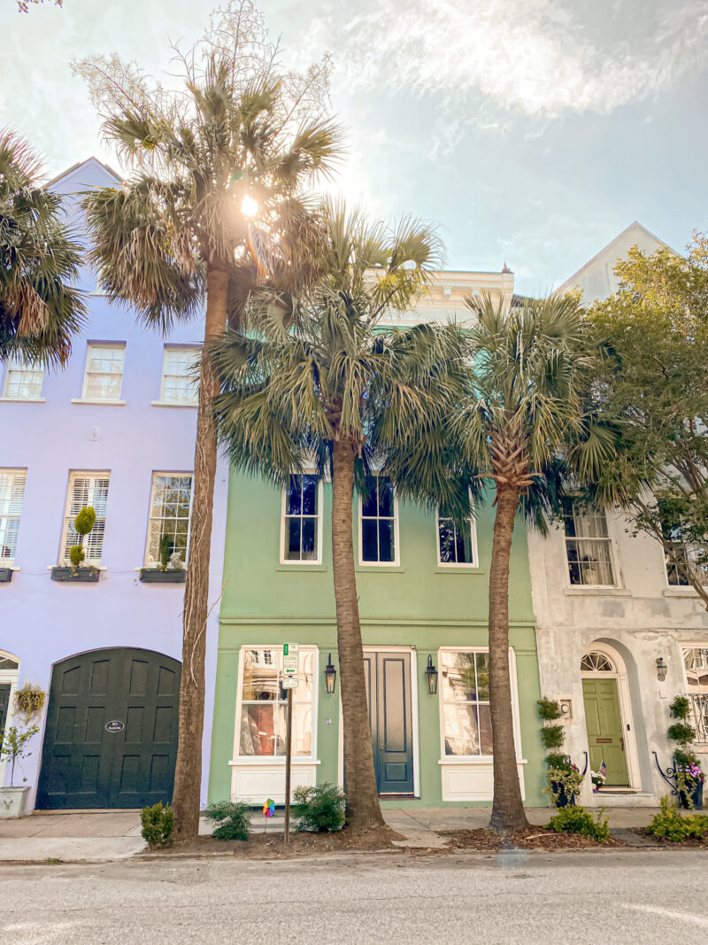 Teilen Sie alle unsere Lieblingsplätze in Charleston.  Und ich darf hinzufügen, dass ich diese charmante Stadt im Süden liebe.